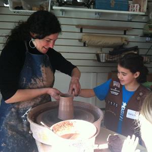 Karissa-Livingston-pottery-wheel